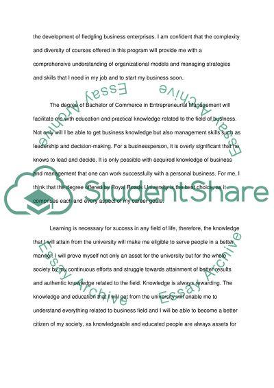 Case study essay example