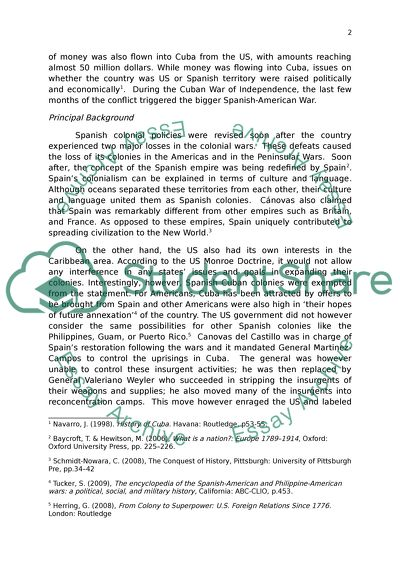 Persuasive Essay Sample High School What Were The Principal Causes And Consequences Of The Spanishamerican War Essay Format Example For High School also Importance Of Good Health Essay What Were The Principal Causes And Consequences Of The Essay Persuasive Essay Papers