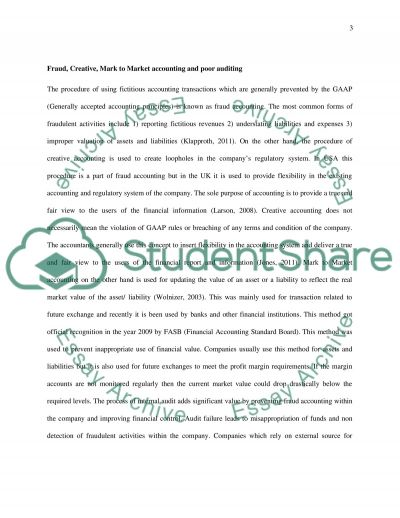 Corporate Collapse Case Study Part 2 essay example