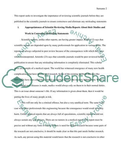 Science and Ethics Essay