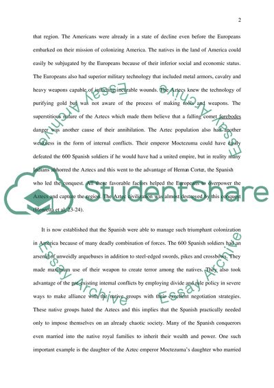 High School Entrance Essays What Made Native American Peoples Vulnerable To Conquest By European  Adventurers Health Essays also English Essay Story What Made Native American Peoples Vulnerable To Conquest By European  How To Write A Proposal Essay Example