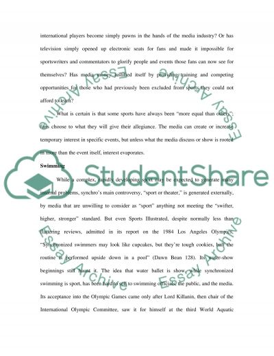 Sports Communications essay example