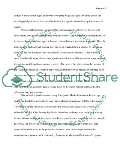 Essay On Science And Technology Candide By Voltaire Independence Day Essay In English also Example Of Thesis Statement In An Essay Injustice Toward Women Candide By Voltaire Essay Learning English Essay
