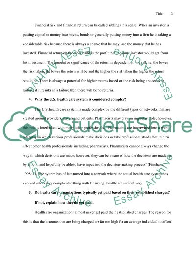 Critical Thinking questions essay example