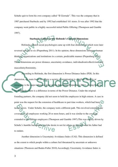 Starbucks Case Study essay example