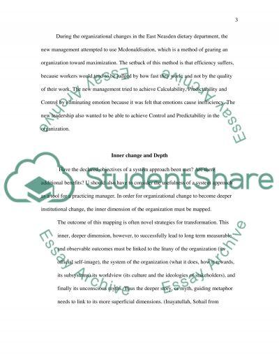 Organisational Culture Essay essay example