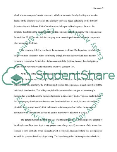 Essay Topics For High School English Discuss The Rationale And Impact Of The Decision On Company Law Proposal Essay Topic Ideas also Doctoral Writing Services Discuss The Rationale And Impact Of The Decision On Company Law  My Hobby English Essay