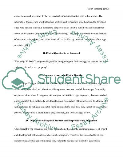 Desire to have Children essay example