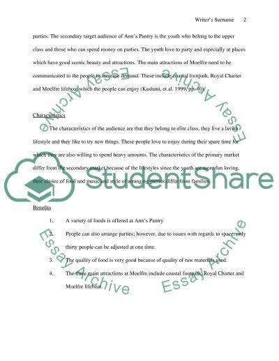 Integrated Marketing Communications Plan essay example