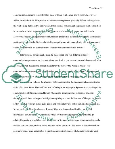 Interpersonal Communication Essay Example  Topics And Well Written  Interpersonal Communication High School Experience Essay also Sample Persuasive Essay High School  Persuasive Essays Examples For High School