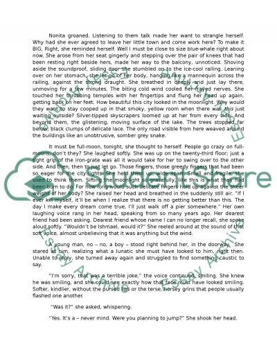 Creative Writing, write a complete story essay example