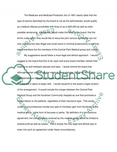 Fraud and Abuse essay example