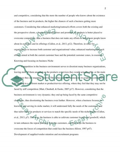 Management Accounting Report Essay example