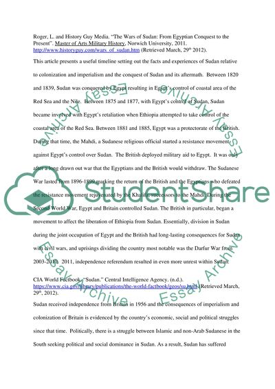 Essay On English Subject New Imperialism In Africa Sudan And Egypt Research Essay Proposal also What Is A Synthesis Essay New Imperialism In Africa Sudan And Egypt Essay Photosynthesis Essay