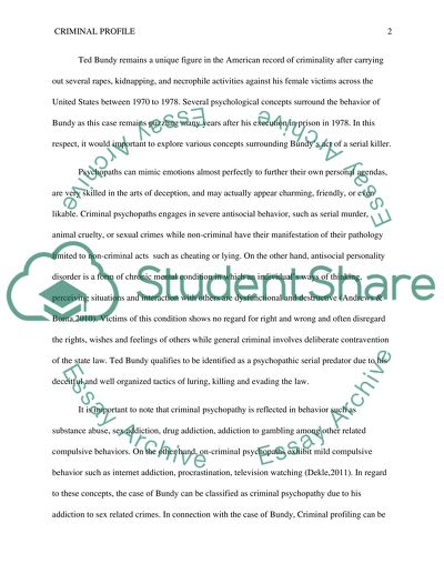 Annotated Outline and Bibliography Assignment Example