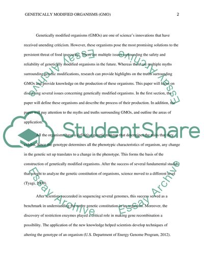 Essays on genetic engineering