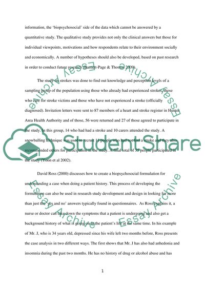 Critique and appraisal of a Research Paper