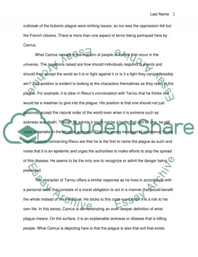 Why I Want To Go To College Essay The Absurd In Albert Camus The Plague How Do You Cite A Website In An Essay also Essay On Importance Of Computer Education The Absurd In Albert Camus The Plague Essay Example  Topics And  Cause Effect Essay