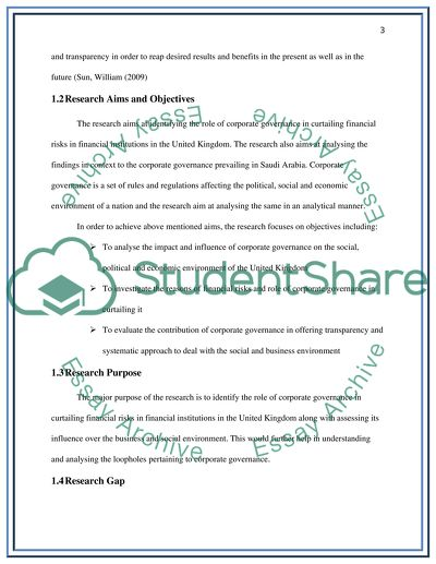 Corporate finance dissertation