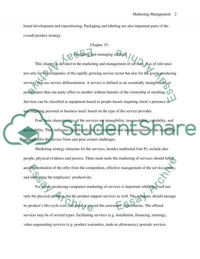 Philip Kotlers experience essay example