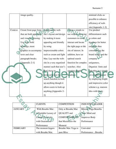 Content Calendar for Breath Mat