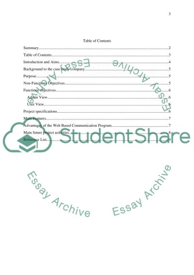 Proposal report essay example