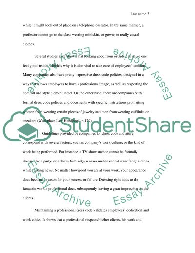 Simple Essays For High School Students Peruse Some Sources To Find A Relationship Between Dress Codes And Success  In The Work Place Model English Essays also Interview Essay Paper Peruse Some Sources To Find A Relationship Between Dress Codes And Essay Essays About Business