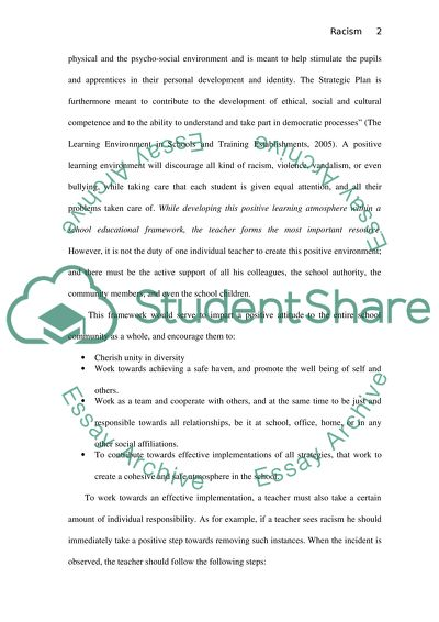 effective learning environment essay