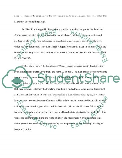 nike sweat shops essay example Nike sweat shops essays: over 180,000 nike sweat shops essays, nike sweat shops term papers, nike sweat shops research paper, book reports 184 990 essays, term and research papers available for unlimited access.