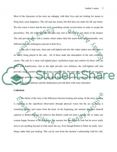 symbolism in a short story essay example topics and well written  symbolism in a short story essay example