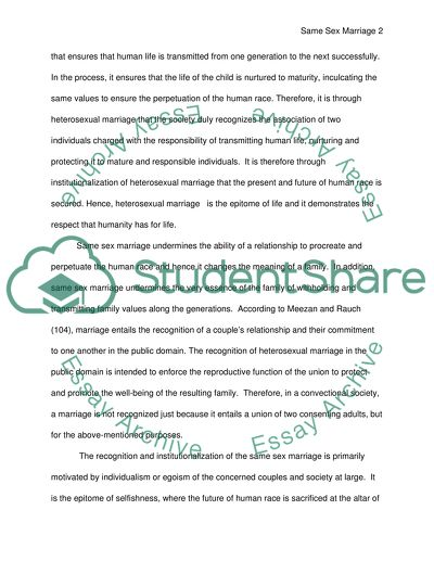 Examples Of An Essay Paper Same Sex Marriages Example Of A College Essay Paper also What Is An Essay Thesis Same Sex Marriages Essay Example  Topics And Well Written Essays  Business Plan Writer In Toronto