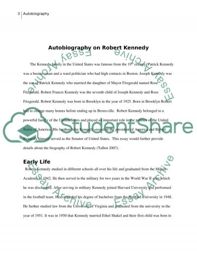 Biography on Abraham Lincoln essay example