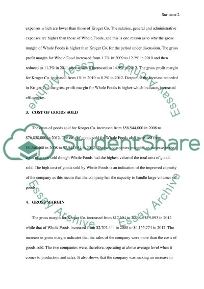 Retail Marketing. Presentation (finance part) essay example