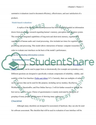 Description of implementation and its issues essay example