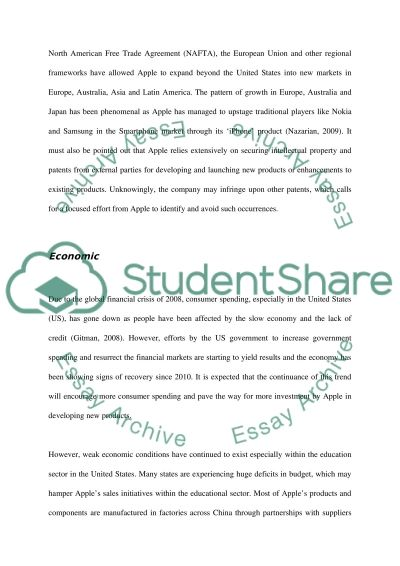 apple company analysis essay Read this essay on apple company analysis come browse our large digital warehouse of free sample essays get the knowledge you need in order to.