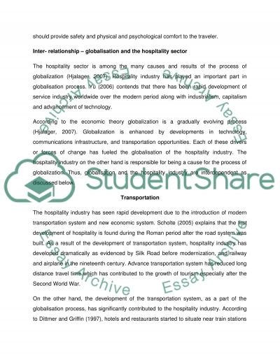 the impact of globalization essay example topics and well text