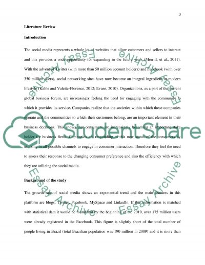 The role of social networks in empowering consumers essay example