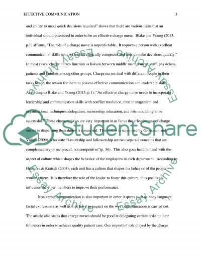 Reflection Paper 2 Research Paper example