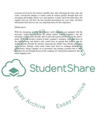 Technology Bachelor Essay essay example