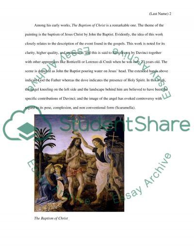 Leonardo Da Vinci Biography And Artwork