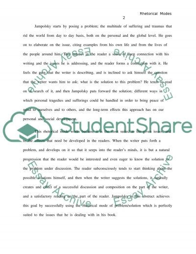 Sample essay example
