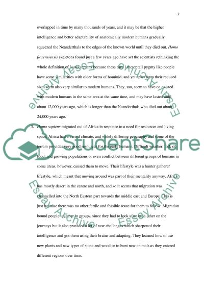 Problems and Parallels essay example