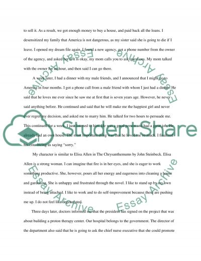Synopsis essay example