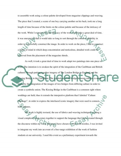Evaluation Essay example