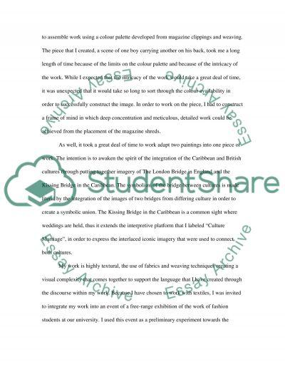 Evaluation essay example