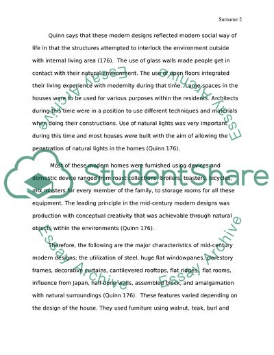 Modernism Essay Example  Topics And Well Written Essays   Words   Modernism
