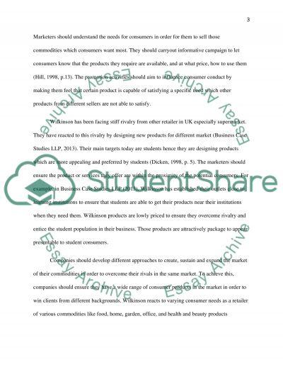 Marketing Principles essay example