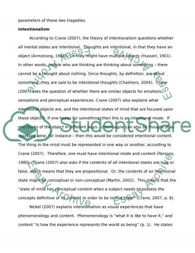 Yellow Wallpaper Essay Functionalist And Intentionalist Explanations Of Mass Murder Cases Essay  Essay About Healthy Lifestyle also Essay Science Murder Essay  Barcafontanacountryinncom Sample Essays For High School
