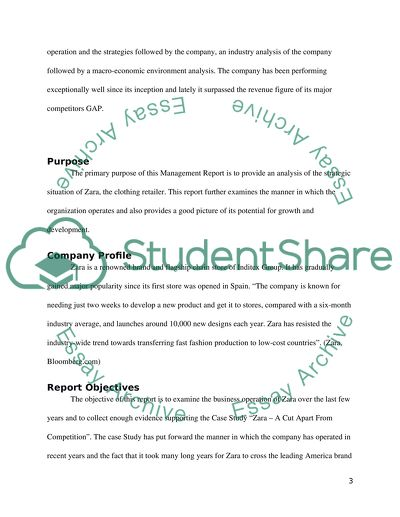 Strategic management essay example