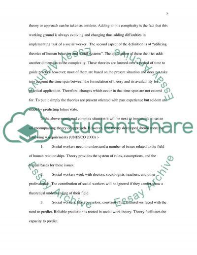 Social work simple terminology: complex realities essay example